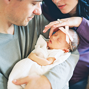 Baby Rosie -- Newborn Lifestyle Photos