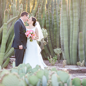 Floral Wedding at the Desert Botanical Garden