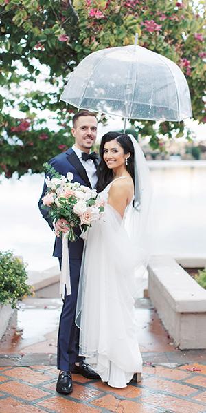 Rainy Day Associate Wedding Featured on Wedding Chicks