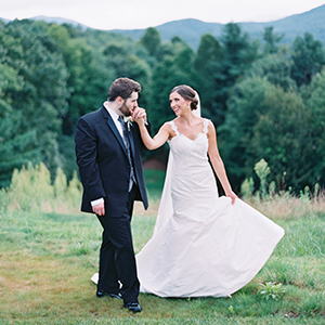 Elegant Mountain Wedding on The Knot