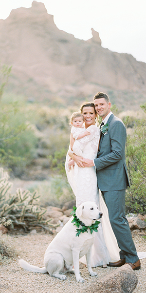 Sweet Boho Wedding Featured on B.LOVED