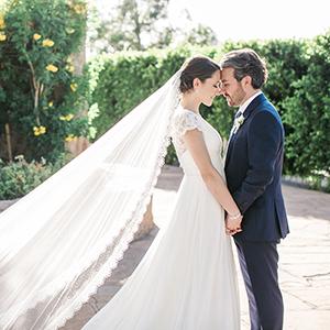 Sweet Wedding at Wrigley Mansion