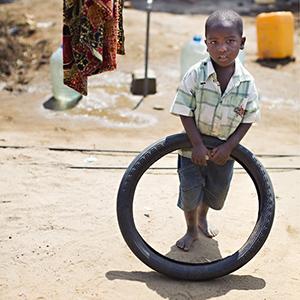 cute Tanzanian orphans