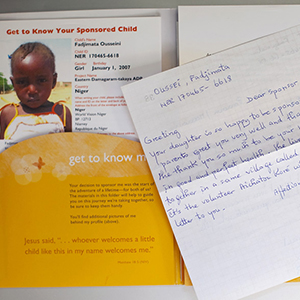 letter to world vision child