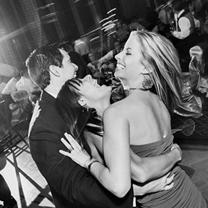 How to create a sense of motion in your reception images