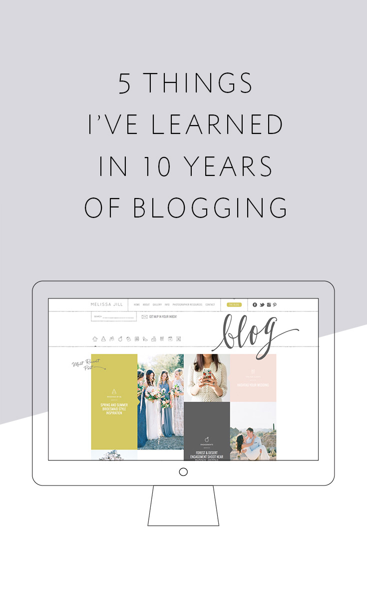 5 things I've learned in 10 years of blogging and how the role of a blog has changed in that time