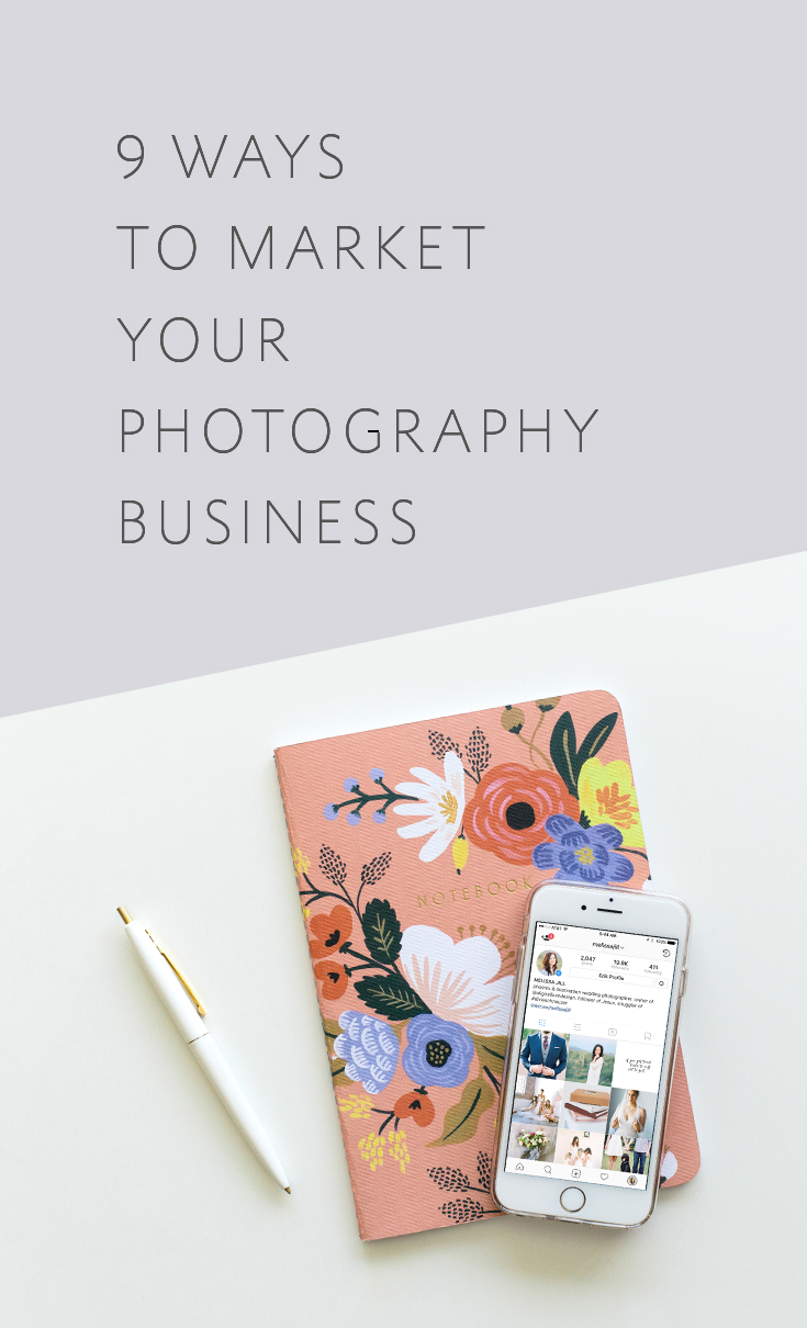 Nine of the very best ways to get the word out and market your wedding photography business!