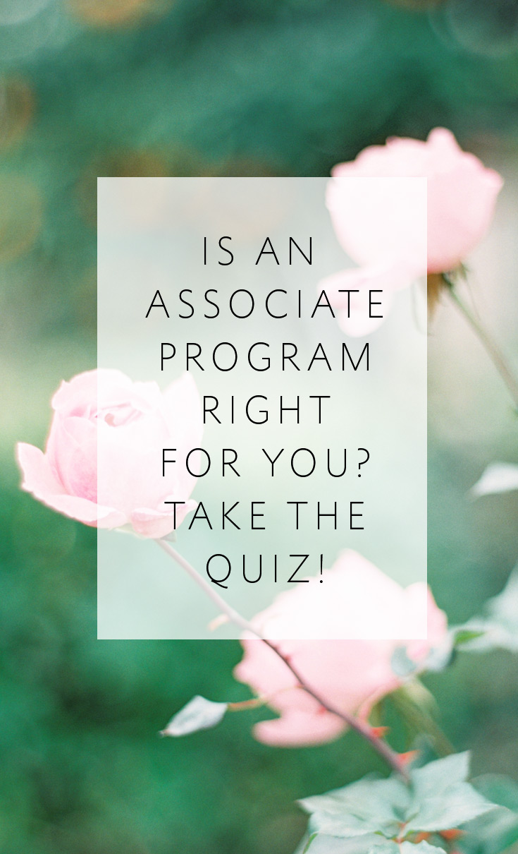 Is an Associate Photographer Program right for you? Take the quiz!