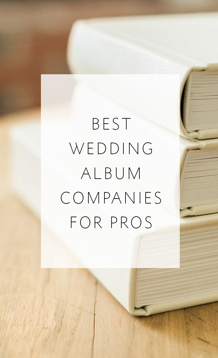 Best Wedding Album Companies preferred by professional photographers