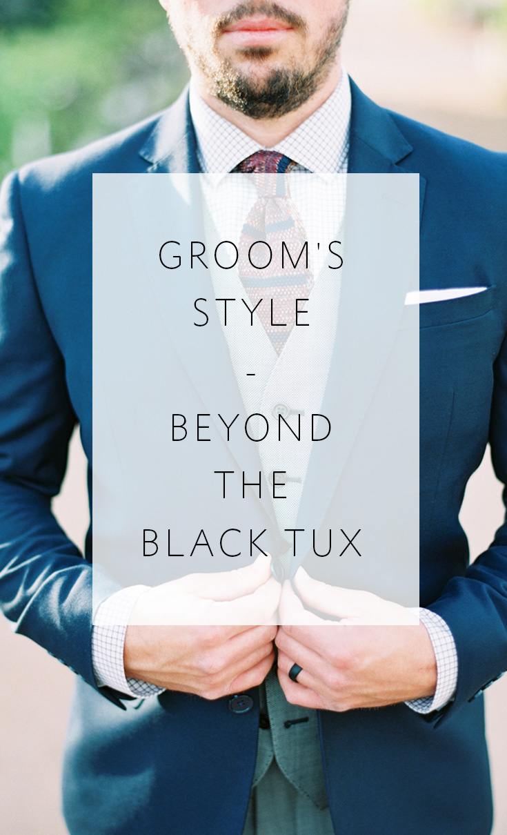 Tips & inspiration for the groom who wants to look his best