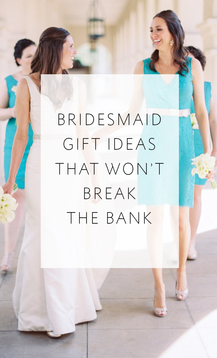 Your S Deserve A Little Thank You These Fun Ideas For Bridesmaid Gifts Won