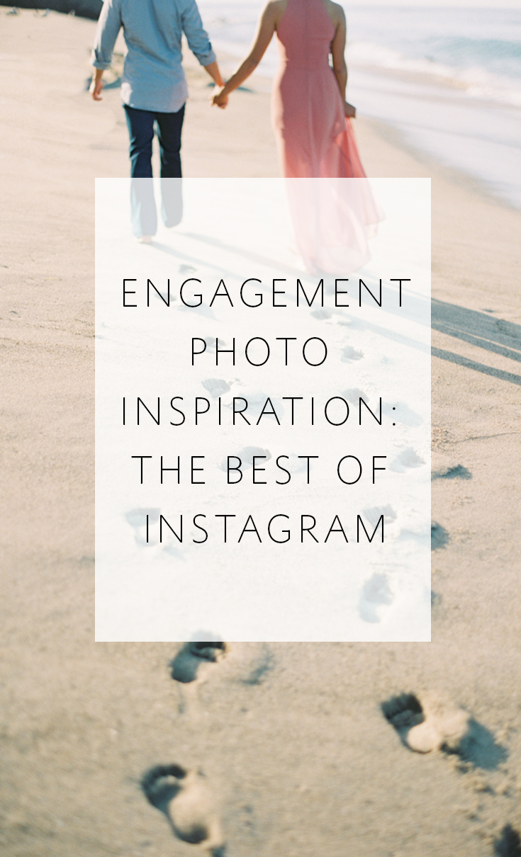 Be inspired by the best loved engagement photos on our Instagram feed!