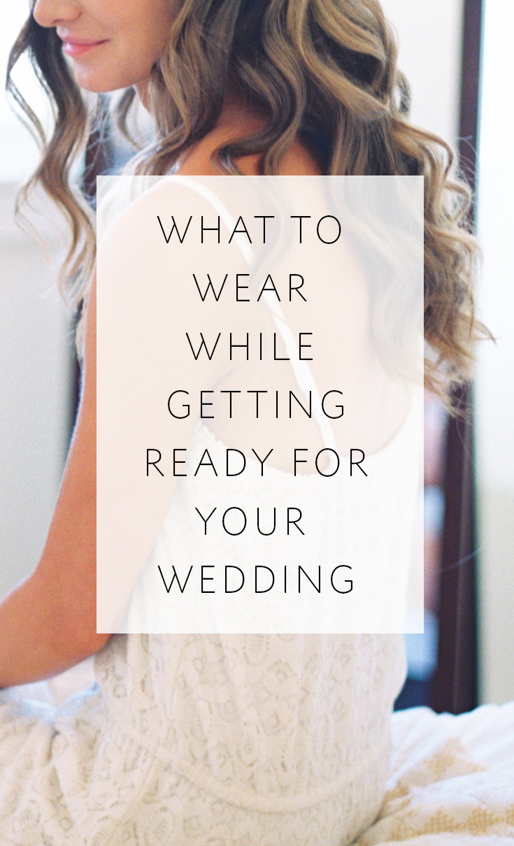 3 Fun Fashionable Options For Brides To Wear While Getting Ready Their Wedding
