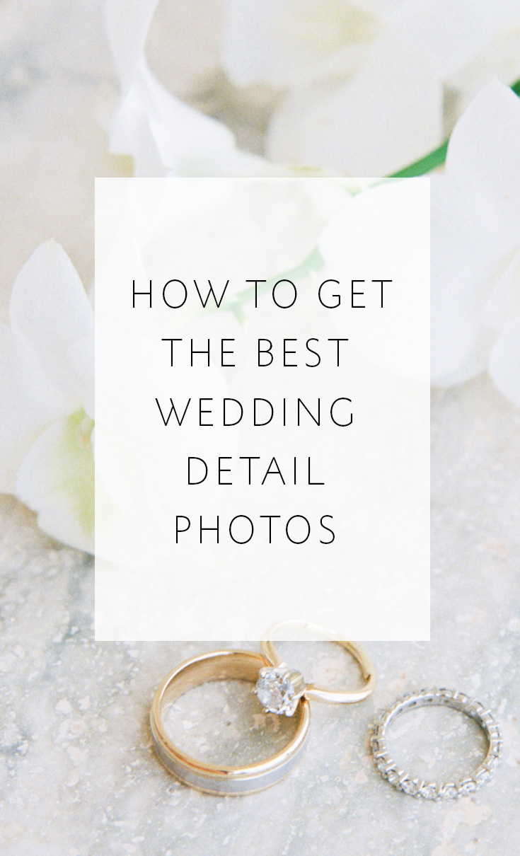 Simple tips that make a BIG difference in your wedding detail photos