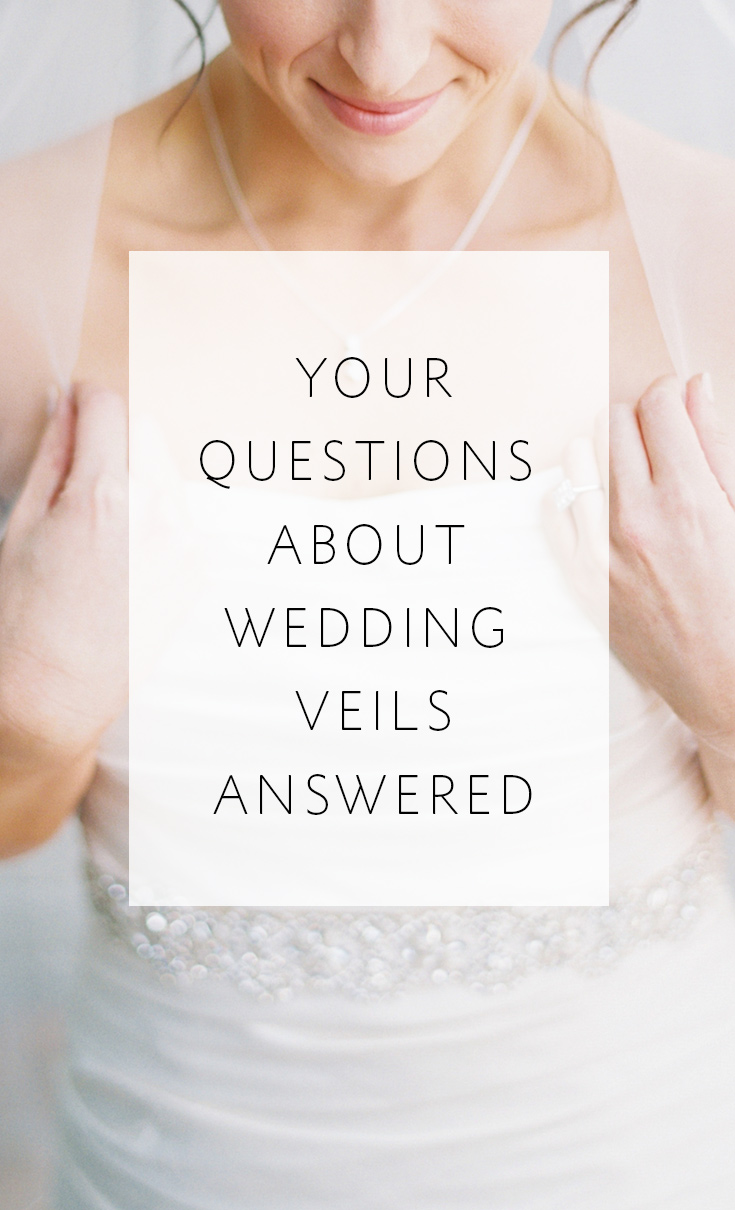 Answers to veil questions asked by brides