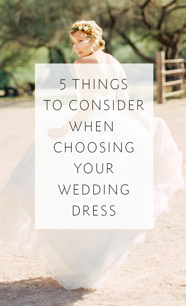 Make sure your gown is perfect for you AND for your wedding!