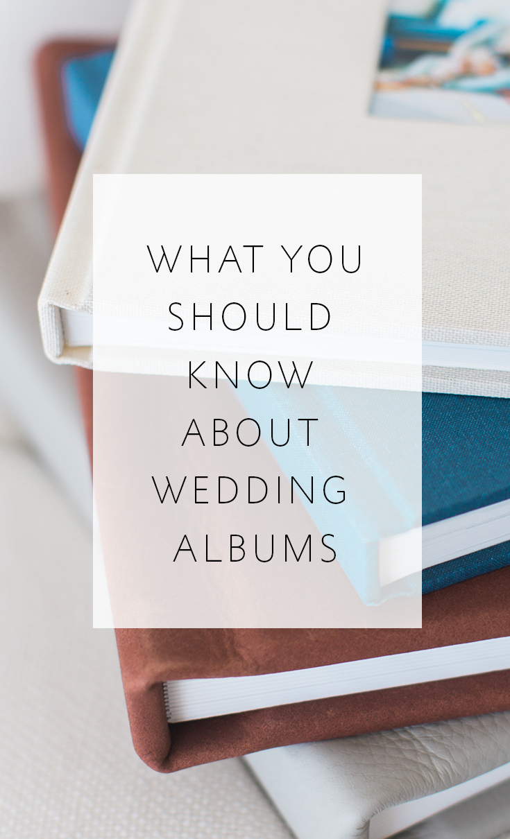 4 things every engaged couple should know about wedding albums
