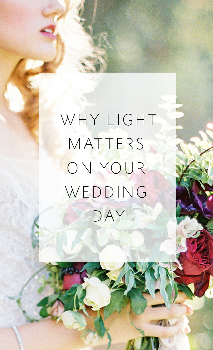 How 4 BIG aspects of your wedding photography are impacted by light