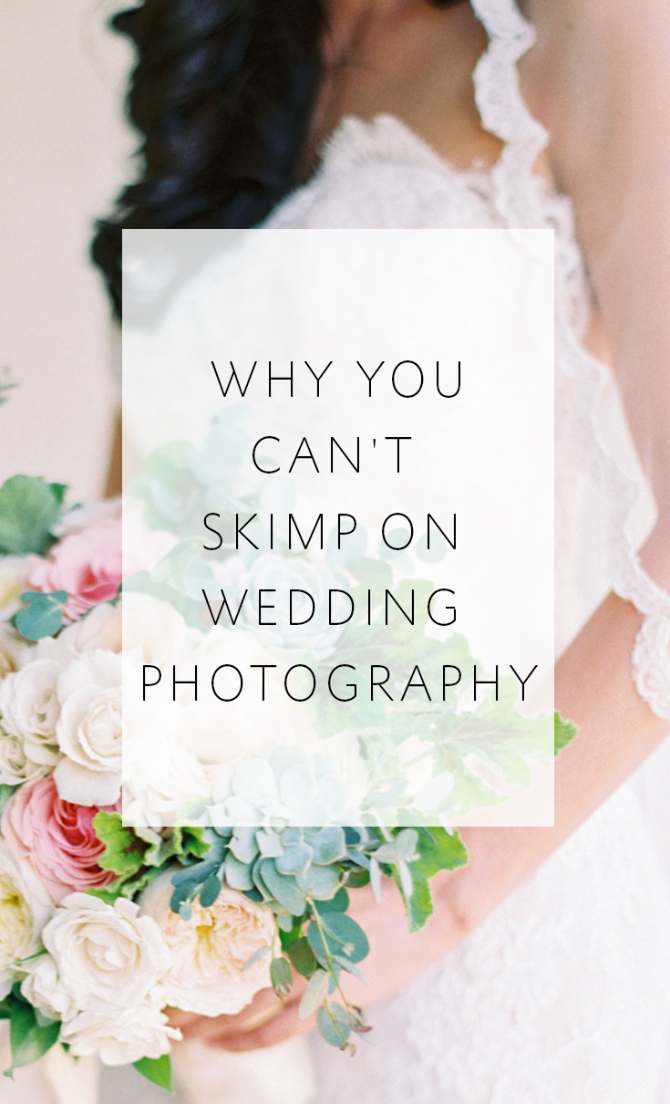3 reasons never to skimp on your wedding photography