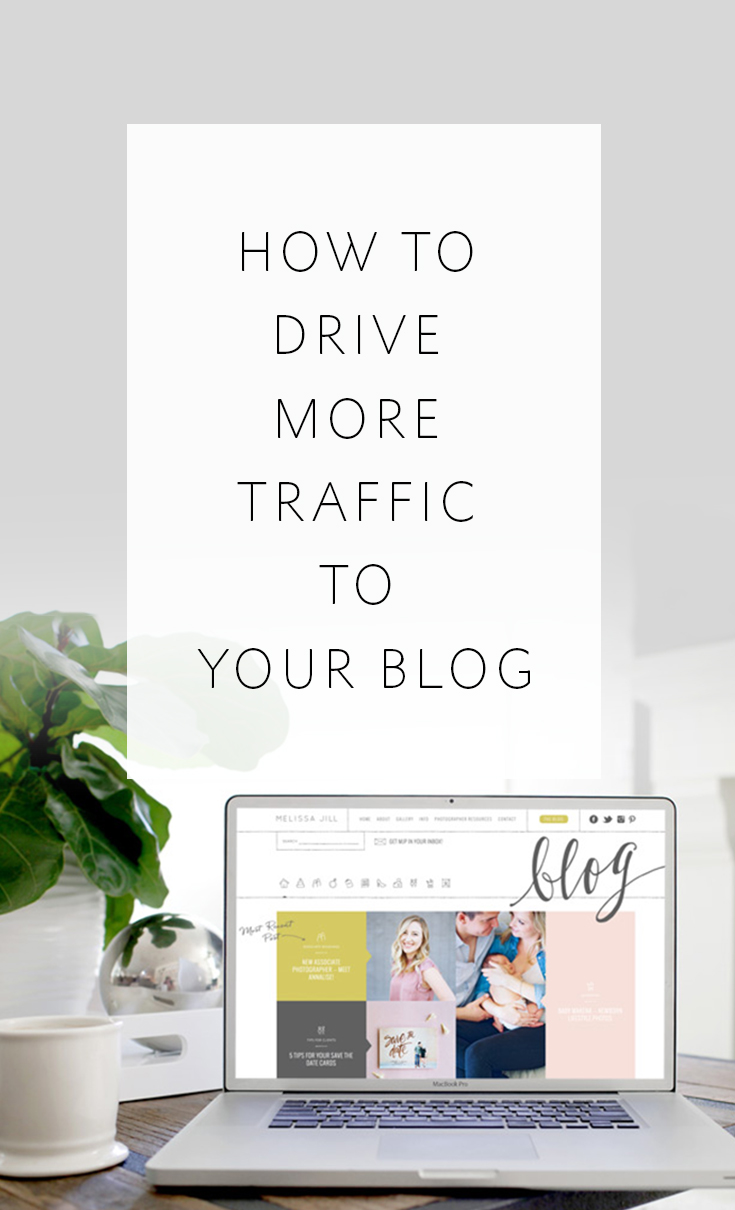 How to drive more traffic to your blog. Social media and SEO are two great methods, but this is one that is highly effective and often overlooked!