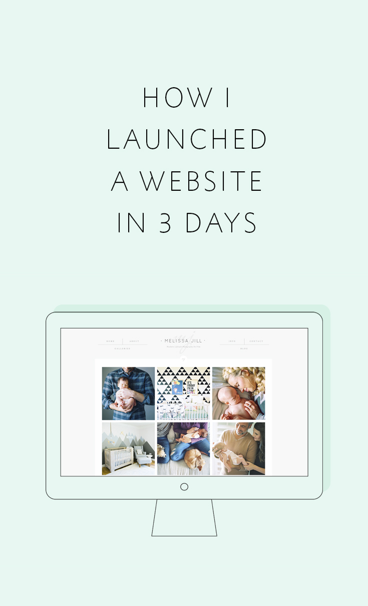How to launch a website QUICK
