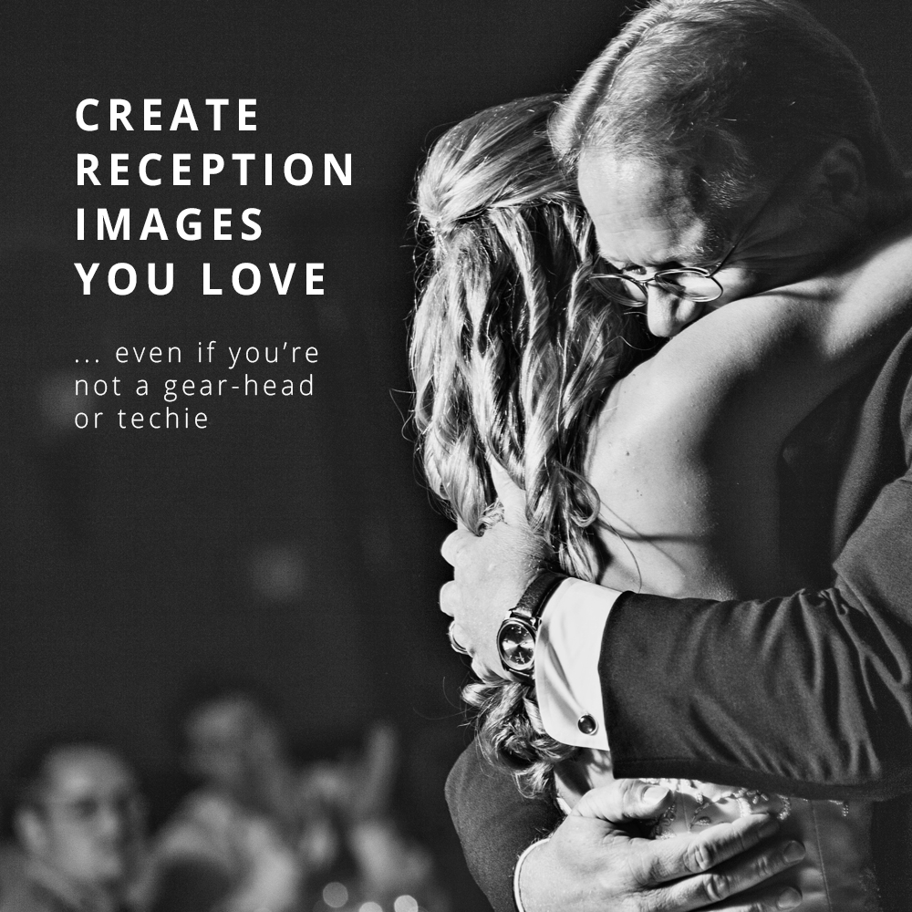 How to capture movement in your reception photos by dragging your shutter