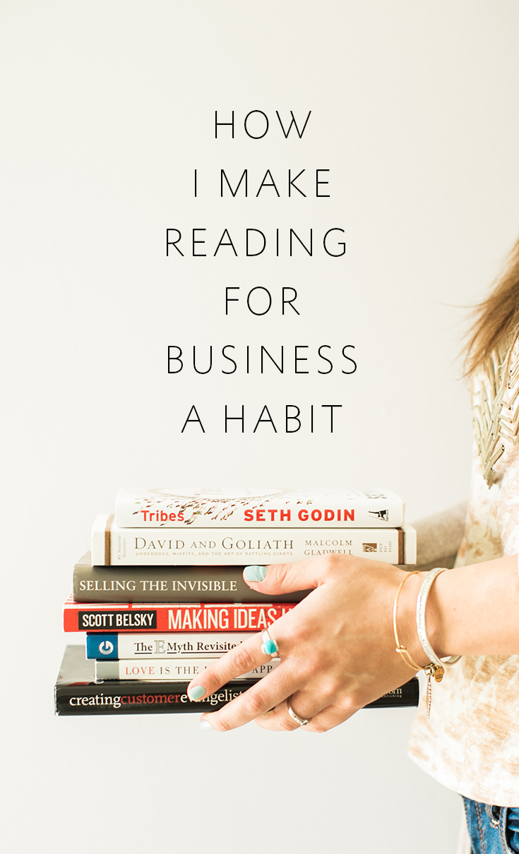 How I make reading for business a habit that is transformational