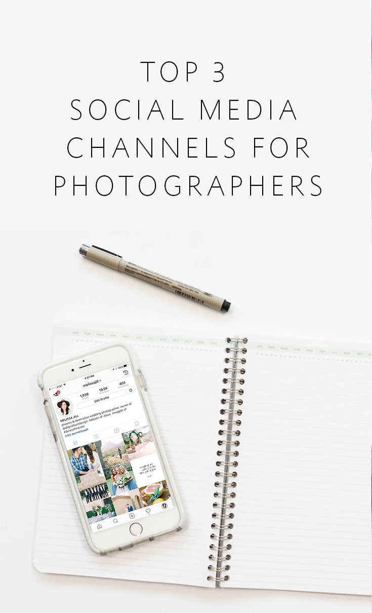 The top 3 social media channels photographers should use and how to manage them