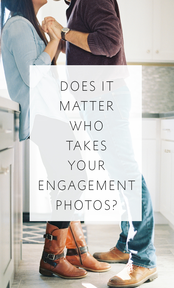 There IS one best person who should take your engagement portraits!